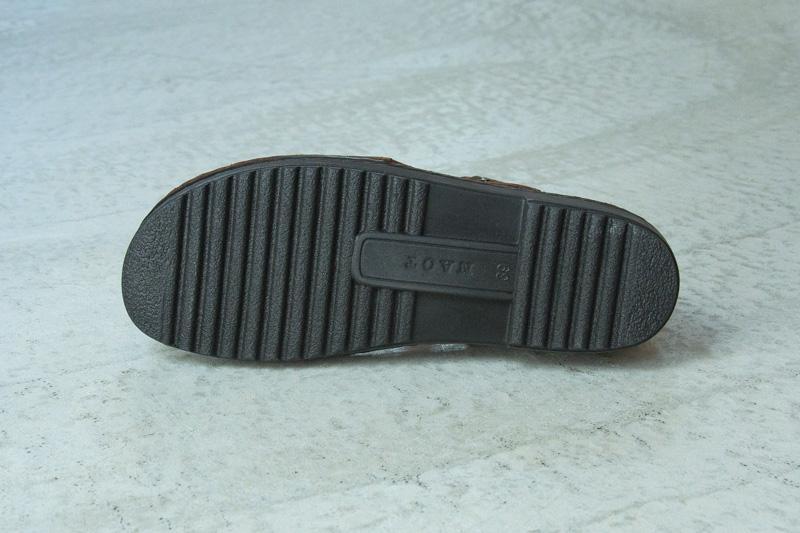 NAOTさんの靴 OLGA(オルガ) Matt Blackのアウトソールの写真