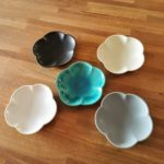アワビウェア Awabiware 花型小皿|岡山の民芸の器と雑貨 FRANK